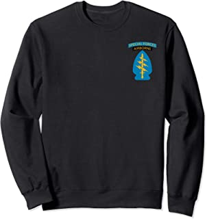 Army Special Forces Green Berets Airborne Veteran Patch Sweatshirt