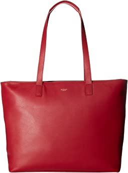 KNOMO London Mayfair Luxe Maddox Top Zip Tote