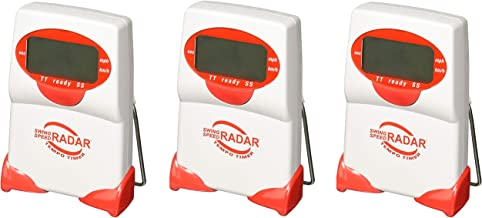 Sports Sensors Swing Speed Radar with Tempo Timer (Pack of 3)