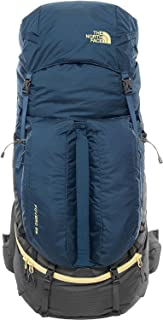 North Face Fovero 85 - Mochila, Color Azul/Amarillo