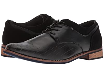 Deer Stags Calgary Comfort Oxford (Black Simulated Leather) Men