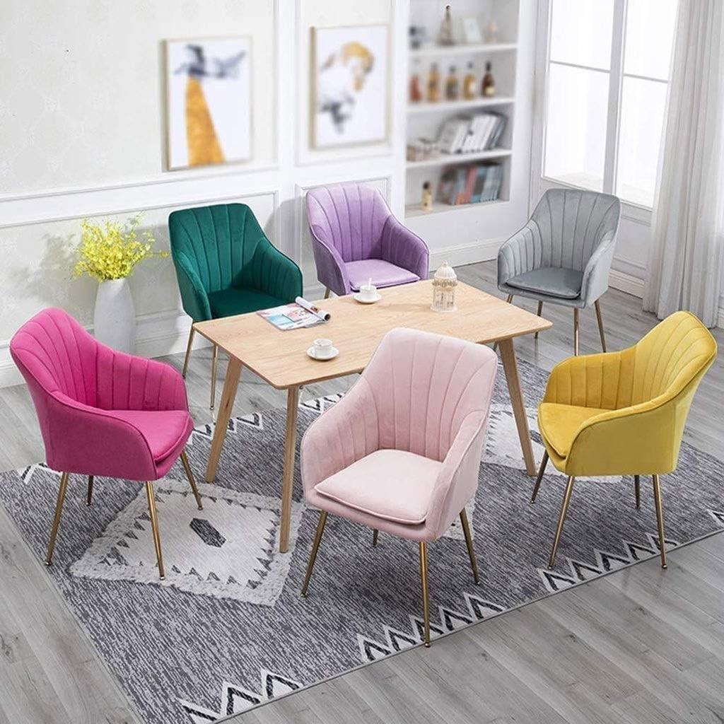 JU FU Président, Accueil, président Étude chaise d'ordinateur, simple et style créatif européen Loisirs chaise, 4 couleurs en option @@ (Color : C) B