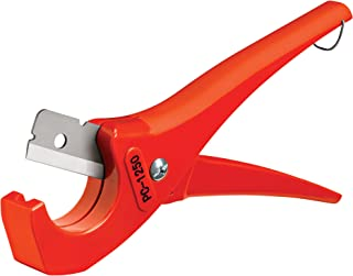 RIDGID 23488 Model PC-1250 Single Stroke Plastic Pipe and Tubing Cutter, 1/8-inch to 1-5/8-inch Pipe Cutter