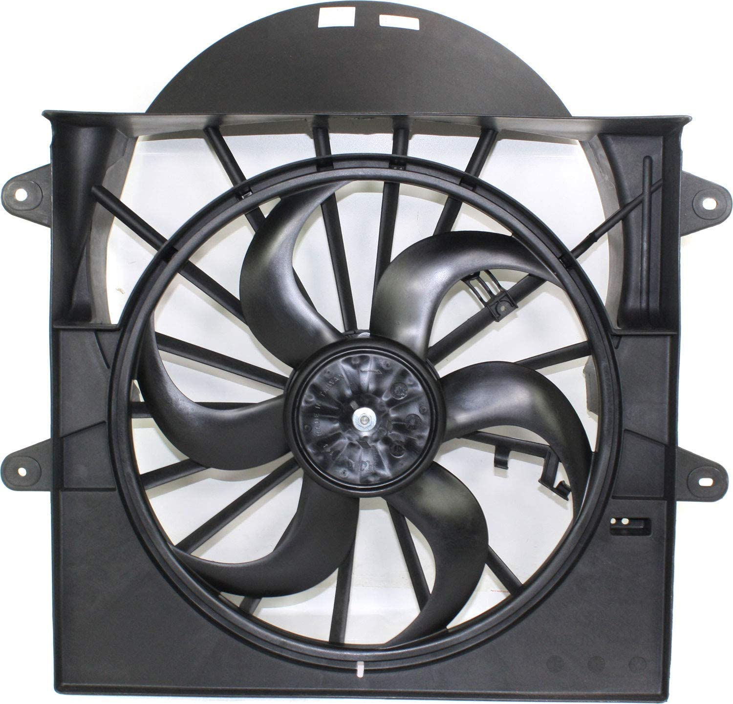Garage-Pro Now free shipping Cooling Great interest Fan Assembly Compatible GRAND CHERO JEEP with