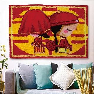 Crochet De Loquet pour Adultes Grand, Chambre Fond Tapisserie Murale Tapisserie Suspension Murale, Tapisserie De Bricolage...