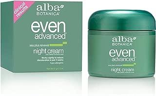 Alba Botanica Natural Even Advanced Sea Plus Renewal Night Cream 2 fl oz