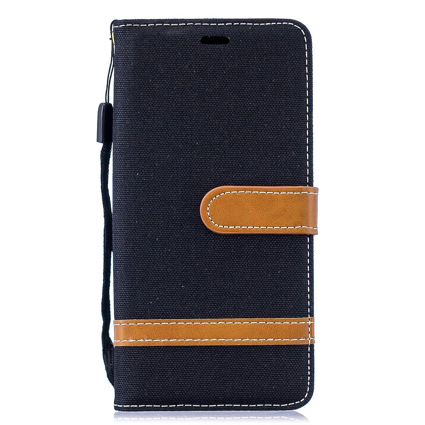 記者の面では理解Lomogo Galaxy S10 ケース 手帳型 耐衝撃 レザーケース 財布型 カードポケット スタンド機能 マグネット式 ギャラクシーS10 手帳型ケース カバー 人気 - LOBFE14103 黒