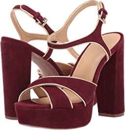 bce37351a580 Oxblood Kid Suede Metallic Nappa