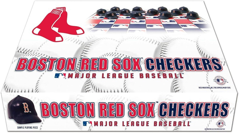 Boston Red Sox Checker Set