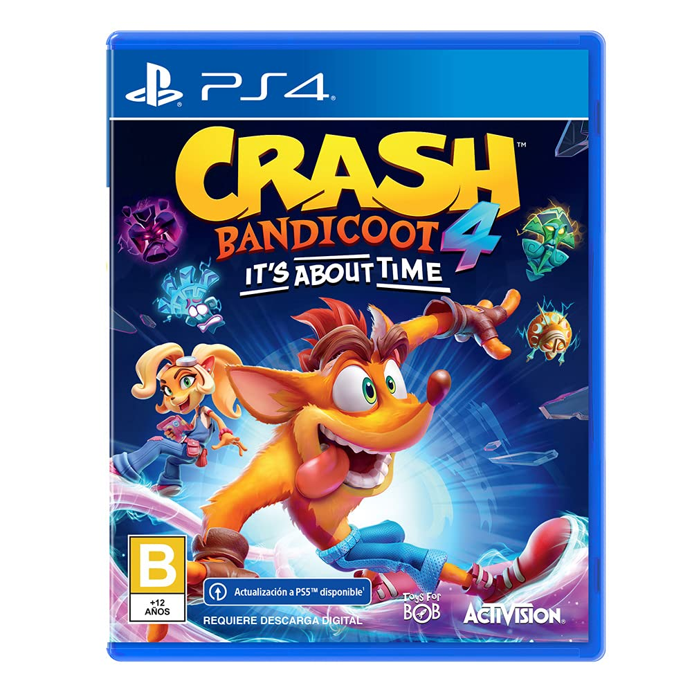 Wholesale All items in the store Crash Bandicoot 4 ITS PS4 TIME LATAM ABOUT