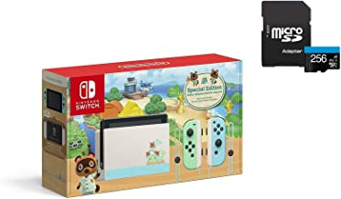 "$449 » Sponsored Ad - Newest Nintendo Switch with Green and Blue Joy-Con - Animal Crossing: New Horizons Edition - 6.2"" Touchscre..."