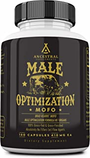 Mofo is Ancestral Supplements Male Optimization Formula W/ Organs (Mofo) — Supports Testosterone, Prostate and Heart Healt...