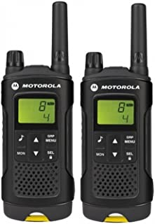 Motorola XT180 Two-Way radios 8 Canales 446 MHz Negro - Walkie-Talkie (8 Canales, 446 MHz, 8000 m, LCD, Níquel-Metal hidru...