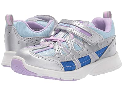 Tsukihoshi Kids Speed 2 (Toddler/Little Kid) (Silver/Sky) Girl