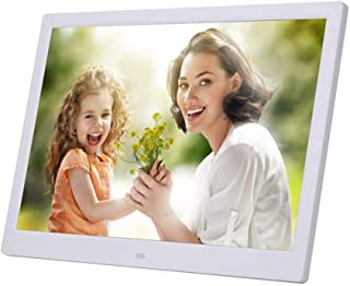 15-Inch Digital Photo Frame High Resolution LCD 1280 * 800 IPS Picture Video Frame Calendar Alarm Clock Supports Multiple ...