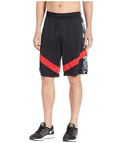 Nike Dry Courtlines Shorts Print (Black/University Red/White) Men