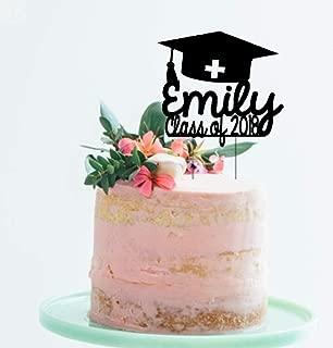 Classe de 2019 diplômés MIX 12 comestibles Standup gâteau Toppers Décoration Graduation