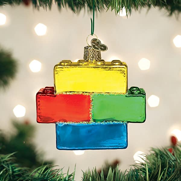 Old World Christmas 44127 Ornament Building Blocks