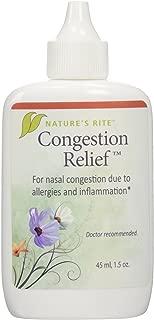 Natures Rite Congestion Relief Spray 1.5 oz