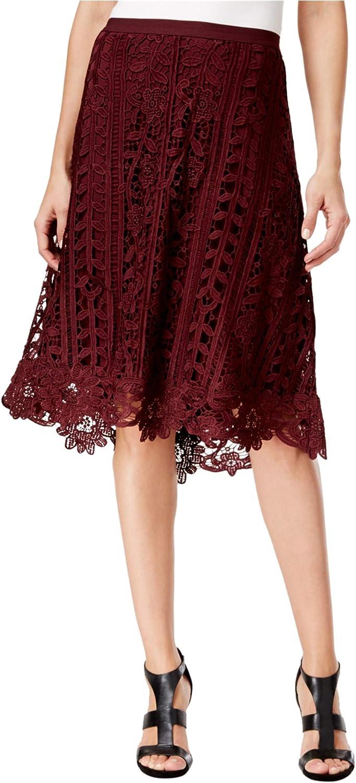 John Paul Richard Womens Crochet ALine Skirt