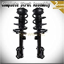 WIN-2X New 2pcs Front Left & Right Side Quick Complete Suspension Shock Struts & Coil Springs Assembly Fit 05-10 Ford Mustang Base/GT/Bullitt/Lujo