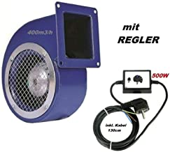 Ventilador 1200m3/h con 500W Regulador de Velocidat