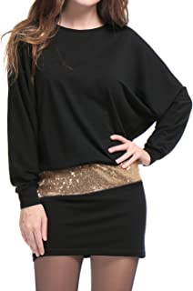 Best batwing sleeve mini dress Reviews