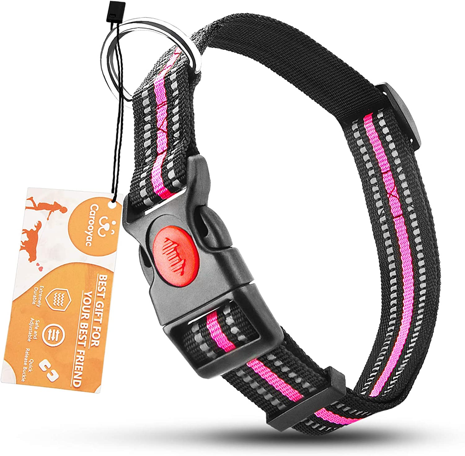 Carooyac Girl Ranking TOP7 Dog Collar Pink Small Large for All stores are sold Medium