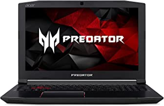 Acer Predator Helios 300 Laptop Intel Core i7-8750H 2.20GHz 16GB Ram 256GB SSD Windows 10 Home (Renewed)