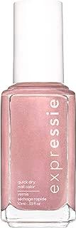 essie expressie quick-dry nail polish, nude pink nail polish, checked in, 0.33 fl. oz.