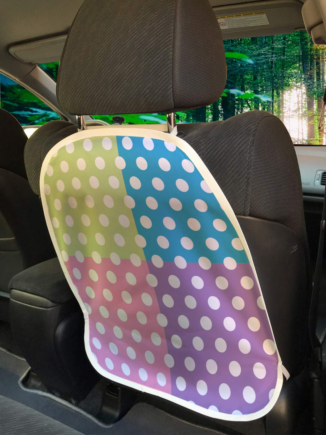 Ambesonne Polka Dots Car Seat of Set in Al sold out. security Protector 2