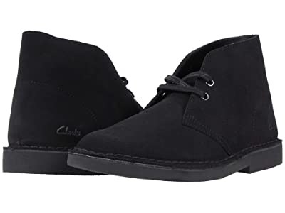 Clarks Desert Boot 2 (Black Suede) Women