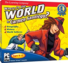 Where In The World Is Carmen Sandiego - PC