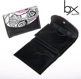 2 Women's Buxton Floral Pop Art Business Card /& Credit Case Holder Snap Wallet