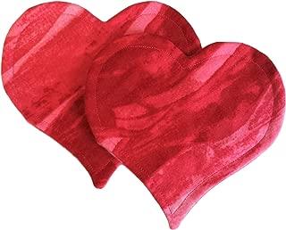 Scent Bonding Hearts - Scent Bonding Blankets - Preemie NICU Needs - Newborn Baby Needs - Parent Baby Bonding - Pink