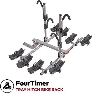 YAKIMA - FourTimer Hitch Mount Tray Bike Rack, 4 Bike Capacity