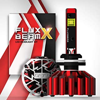 OPT7 Fluxbeam X 880 893 899 LED Headlight Bulbs - 13,000Lm 6,000K Daytime White - All Bulb Sizes - 140w - 2 Year Warranty
