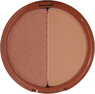Mineral Fusion Bronzer Duo - Luster By Mineral Fusion for Women - 0.29 Oz Bronzer, 0.29 Oz