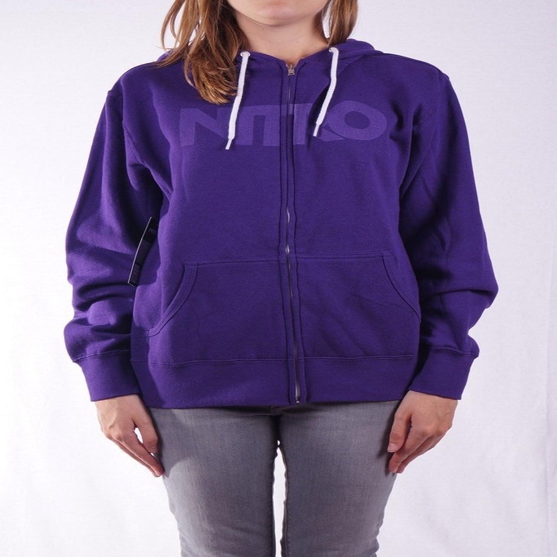 Nitro Wordmark Tonal Hoodie Purple