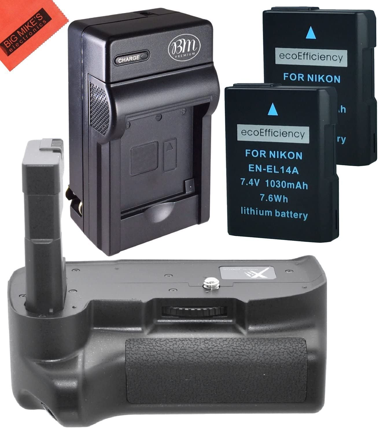Battery Grip Ranking integrated 1st place Kit for Nikon D3400 Digital Popular brand SLR Includes R - Camera