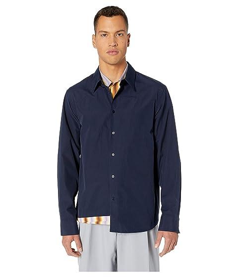 MARNI Layered Solid/Degrade Shirt
