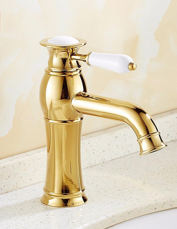 Lvsede Bad Wasserhahn Design Küchenarmatur Niederdruck Waschbecken Kupfer Badezimmer Waschbecken VerGoldet L6181