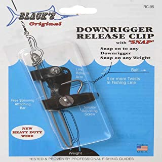 BLACK MARINE PRODUCTS DOWNRIGGER RELEASES