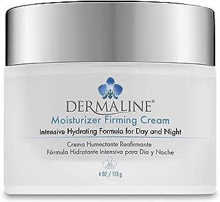 Dermaline - Moisturizer Firming Cream with Retinol, Vitamin E and Hyaluronic Acid 4 Oz. Jar