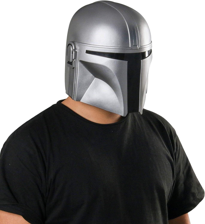 Mandalorian Helmet Omaha Mall Men's Halloween Max 53% OFF Cosplay Lat Costume Full Face