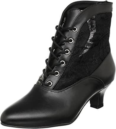 Funtasma Dame05/B/Pu, Women Warm Lining Ankle Boots