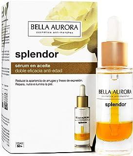 Bella Aurora Splendor Serum en Aceite Repara y Previene el Envejecimiento con Ginseng Rojo y Aceite de Camelia Hidrata ...
