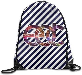 QiBePlo Electric デイジー カーニバル ロゴ ジム ドロース?#21435;轔螗?バック?#38772;氓?スポーツバッグ