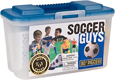 Kaskey Kids Soccer Guys Inspires Imagination with Endless Hours of Creative, Open-Ended Play – Includes 2 Full Teams