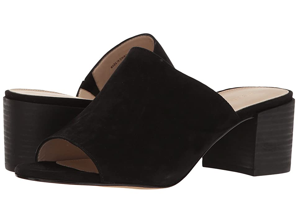 Pelle Moda Union (Black Suede) High Heels